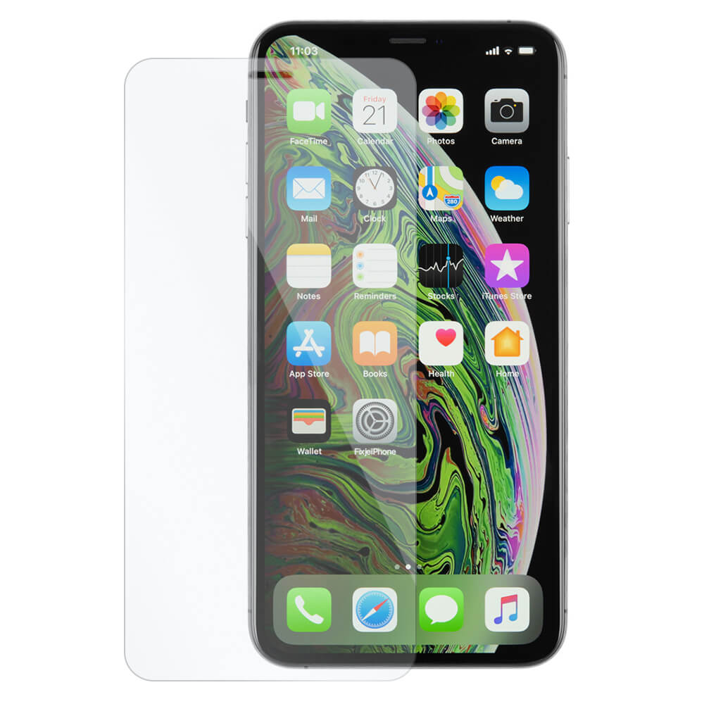 Afbeelding van 10x iPhone Xs Max tempered glass