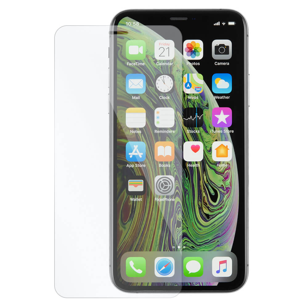 Afbeelding van 10x iPhone Xs tempered glass