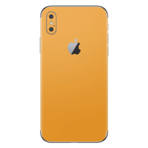 iPhone Xs skin geel