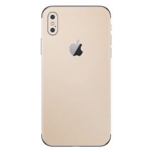iPhone Xs skin goud