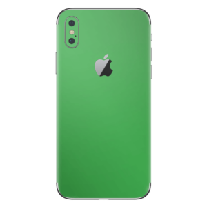 iPhone Xs skin groen