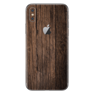 iPhone Xs skin hout