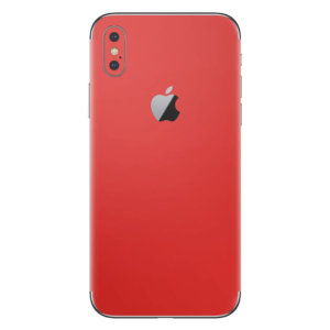 iPhone Xs skin rood