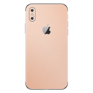 iPhone Xs skin rose goud
