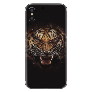 iPhone Xs skin tijgerkop