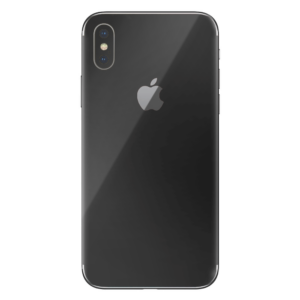 iPhone Xs skin zwart