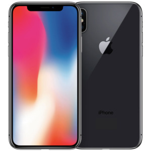 Refurbished iPhone X space grey