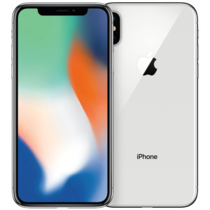 Refurbished iPhone X zilver