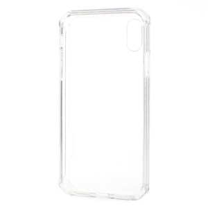 iPhone Xs acrylic TPU hoesje transparant