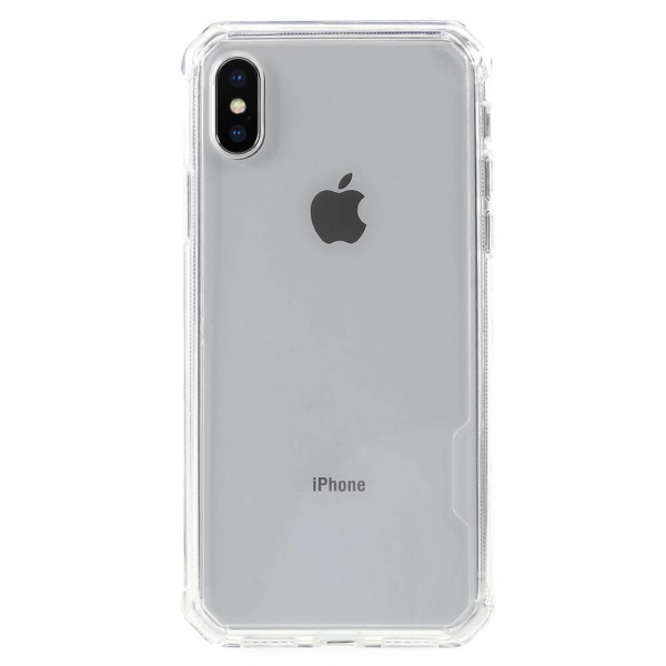 iPhone Xs Max acrylic TPU hoesje transparant