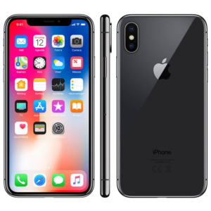 Refurbished iPhone X space grey 64 GB