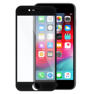 iPhone 8 invisible tempered glass zwart