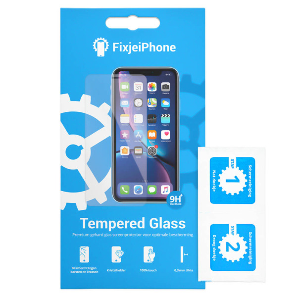 FixjeiPhone Tempered Glass Verpakking