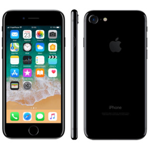 Refurbished iPhone 7 jet black