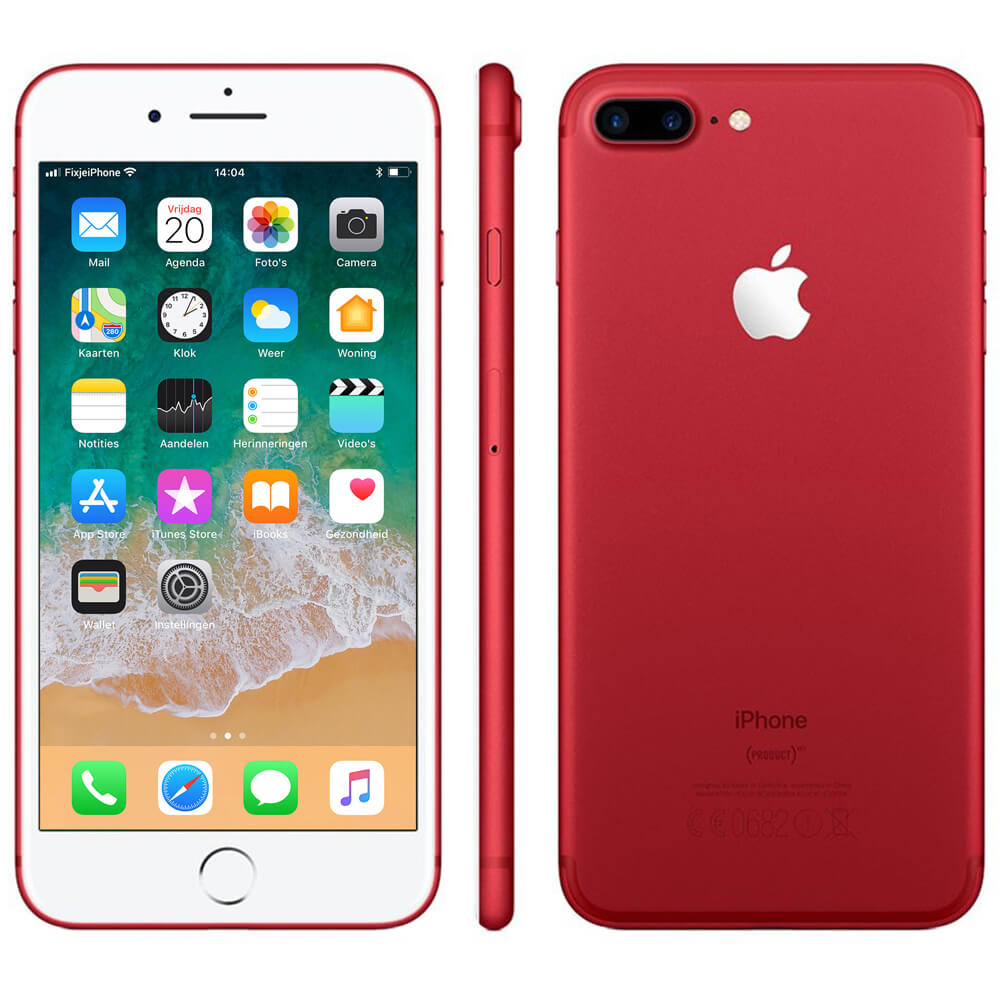 Afbeelding van Refurbished iPhone 7 plus 128GB rood