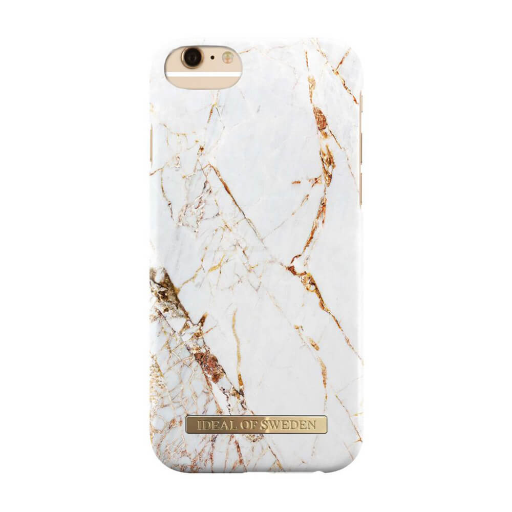 Afbeelding van iDeal of Sweden fashion case Carrara iPhone 6 goud