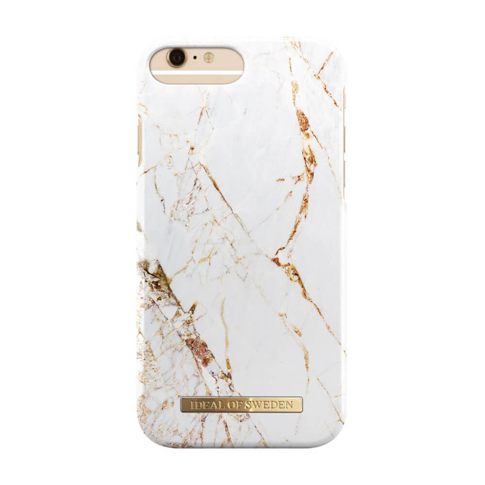 Afbeelding van iDeal of Sweden fashion case Carrera iPhone 6s plus goud