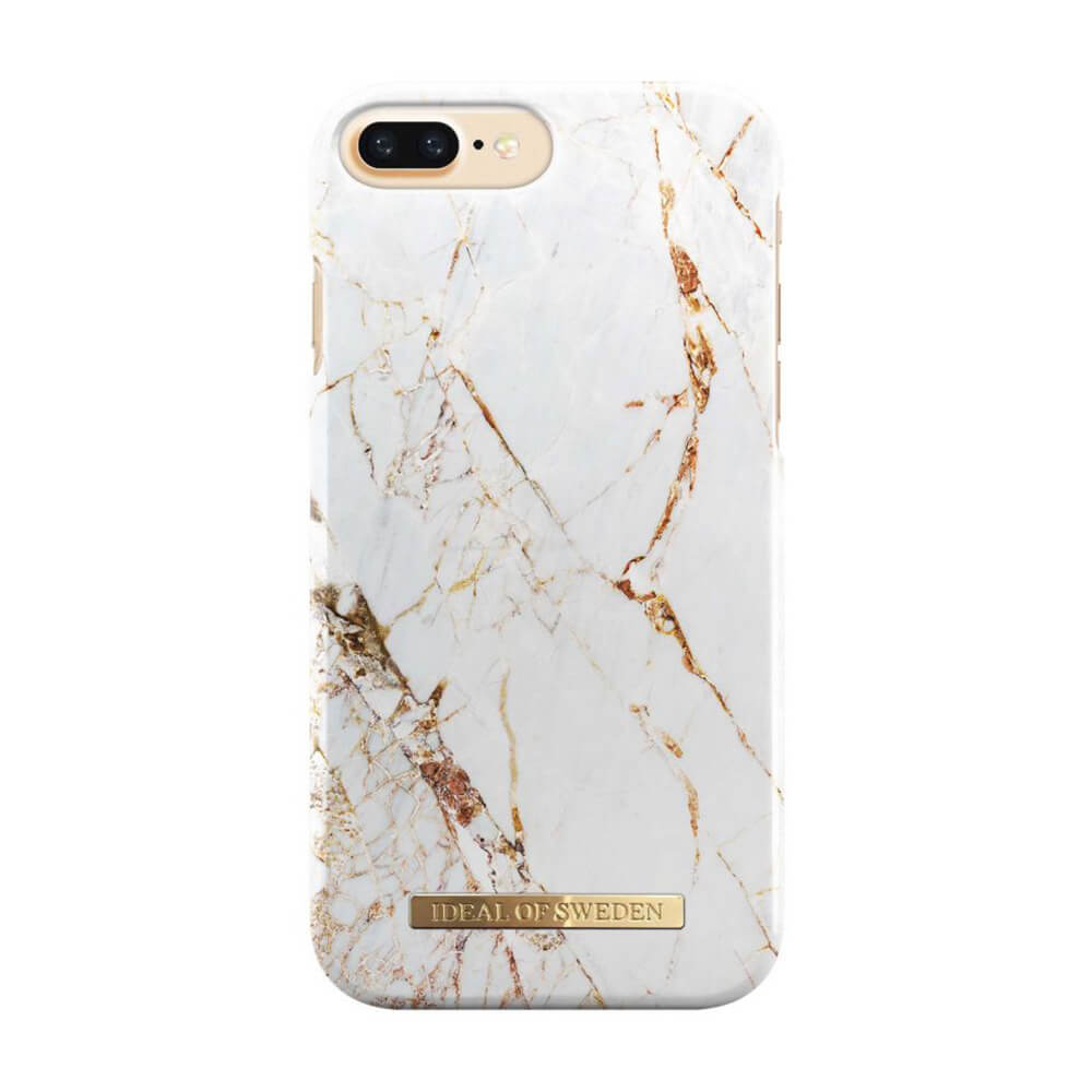 Afbeelding van iDeal of Sweden fashion case Carrara iPhone 7 plus goud