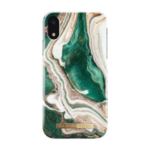 iDeal of Sweden fashion case Jade Marble iPhone Xr goud