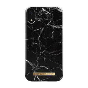 iDeal of Sweden fashion case Marble iPhone Xr zwart