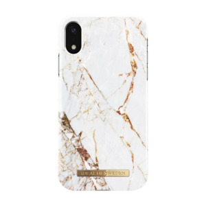iDeal of Sweden fashion case carrara iPhone Xr goud