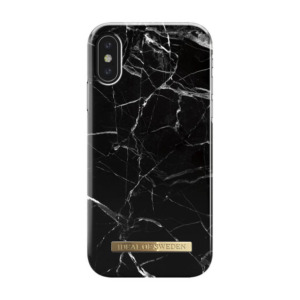 iDeal of Sweden fashion case Marble iPhone Xs zwart