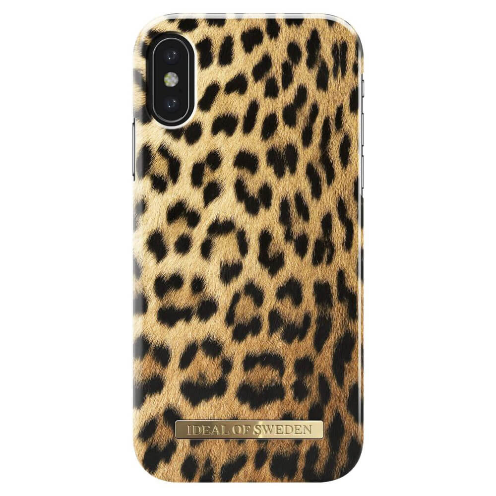 Afbeelding van iDeal of Sweden fashion case Wild Leopard iPhone X
