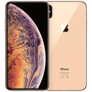 Refurbished iPhone XS Max goud