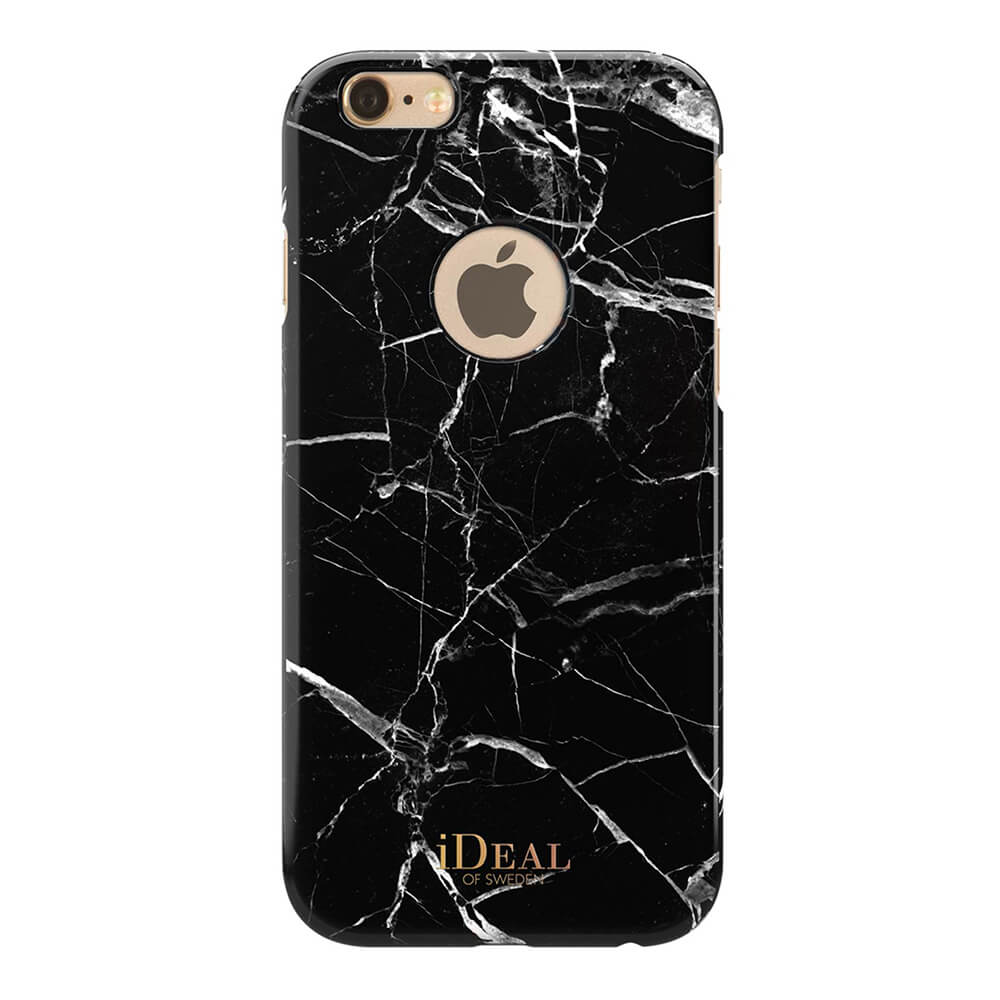 Afbeelding van iDeal of Sweden fashion case iPhone 6 Black Marble