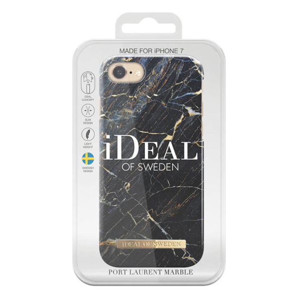 iPhone 8 7 6 6s iDeal of Sweden fashion case Port Laurent Marble