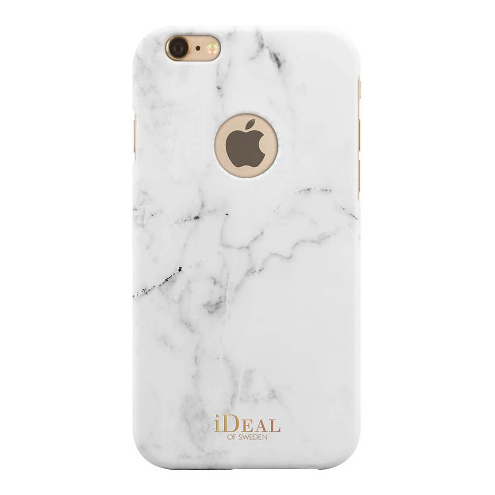 Afbeelding van iDeal of Sweden fashion case iPhone 6s White Marble