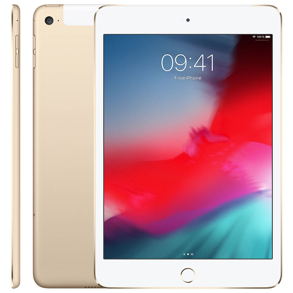 Afbeelding van Refurbished iPad mini 4 goud 16 gb (Wifi + 4G)