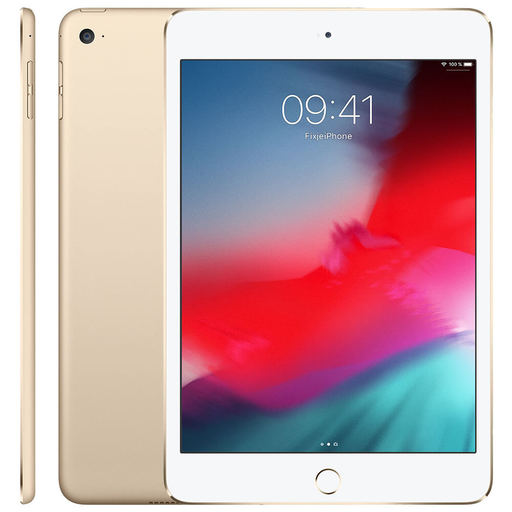 Afbeelding van Refurbished iPad mini 4 goud 16 GB
