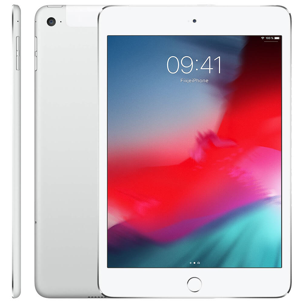 Afbeelding van Refurbished iPad Mini 4 zilver 16 gb (Wifi + 4G)